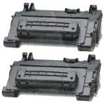 Replacement Standard Yield (2-Pack) Black Laser Toner Cartridge for Hewlett Packard (HP) CC364A – (64A) for the P4015/P4515 Printers