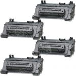 Replacement Standard Yield (4-Pack) Black Laser Toner Cartridge for Hewlett Packard (HP) CC364A – (64A) for the P4015/P4515 Printers