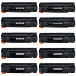 Replacement Black Laser Toner Cartridge for Hewlett Packard (HP) CE278A – (78A) Bulk Set of 10 Packs for the P1606dn