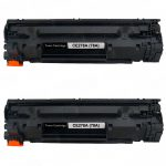 Replacement Black Laser Toner Cartridge for Hewlett Packard (HP) CE278A – (78A) Bulk Set of 2 Packs for the P1606dn