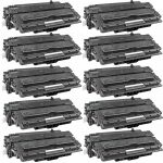 Replacement Black CF214A (HP 14A) Laser Toner Cartridge for Hewlett Packard Printers (Bulk Set of 10-Pack)