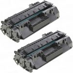 Replacement for HP CF280A (80A) Black Laser Toner Cartridge for Hewlett Packard Printers (Set of 2-Pack)
