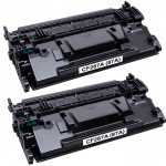 Replacement for HP CF287A (HP 87A) – (Combo Pack of 2) Black Laser Toner Cartridge