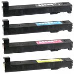 Replacement for HP 827A (Combo Pack of 4) Laser Toner Cartridge:  1 each of Black (CF300A), Cyan (CF301A), Magenta (CF303A), Yellow (CF302A)
