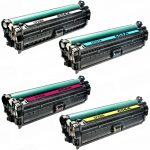 Replacement for HP 654X / 654A (Set of 4):  High Yield Black CF330X, Cyan CF331A, Magenta CF333A & Yellow CF332A Color Laser Toner Cartridge for Hewlett Packard Printers