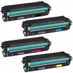 Replacement for HP 508X (Combo-Pack of 4) High Yield Laser Toner Cartridge: 1 Black (CF360X), 1 Cyan (CF361X), 1 Magenta (CF363X), 1 Yellow (CF362X)