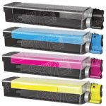 Compatible Okidata C5500/C5650/C5800 Series 'Type C8' (Combo Pack of 4) High Yield Black 43324404, Cyan 43324403, Magenta 43324402 and Yellow 43324401 Laser Toner Cartridge