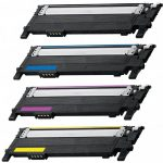 Replacement Toner Cartridge for Samsung CLT-406 (Color Set of 4): 1 each of Black (K406), Cyan (C406), Magenta (M406) & Yellow (Y406)