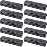 New Compatible MLT-D101S 101 Black Laser Toner Cartridge for Samsung Printer (Bulk Set of 10)