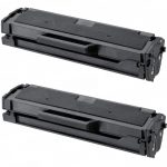 New Compatible MLT-D101S 101 Black Laser Toner Cartridge for Samsung Printer (Bulk Set of 2)