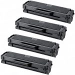 New Compatible MLT-D101S 101 Black Laser Toner Cartridge for Samsung Printer (Bulk Set of 4)