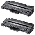 New Compatible MLT-D105L 105 High Yield Black Laser Toner Cartridge for Samsung Printer (Bulk Set of 2-Pack)