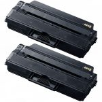 New Compatible MLT-D115L 115 Black Laser Toner Cartridge for Samsung Printers (2-Pack)