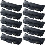 New Compatible MLT-D116L 116 (Bulk Set of 10-Pack) High Yield Black Laser Toner Cartridge for Samsung Printer