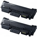 New Compatible MLT-D116L 116 (Bulk Set of 2-Pack) High Yield Black Laser Toner Cartridge for Samsung Printer