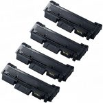 New Compatible MLT-D116L 116 (Bulk Set of 4-Pack) High Yield Black Laser Toner Cartridge for Samsung Printer