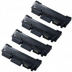New Compatible MLT-D118L 118 (Combo-Pack of 4) High Yield Black Laser Toner Cartridge for Samsung Printer