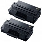 New Compatible MLT-D203L 203 (Bulk Set of 2-Pack) High Yield Black Laser Toner Cartridge for Samsung Printer