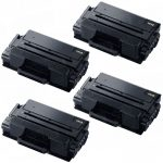New Compatible MLT-D203L 203 (Bulk Set of 4-Pack) High Yield Black Laser Toner Cartridge for Samsung Printer