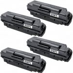 New Compatible MLT-D307L 307 High Yield Black Laser Toner Cartridge for Samsung Printers (Bulk Set of 4-Pack)
