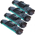 New Compatible Samsung ML-2010D3 ML-2010 Combo Pack of 4 Black Laser Toner Cartridge (ML2010)
