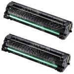 New Compatible MLT-D104S 104 (Bulk Set of 2-Pack) Black Laser Toner Cartridge for Samsung ML-1665 Printer