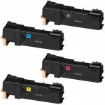Compatible Replacement Toner Cartridge for Xerox Phaser 6500 / WorkCentre 6505 Series Printer (Bulk Set of 4):  1 Black, 1 Cyan, 1 Magenta, 1 Yellow